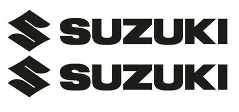 Schriftzug Aufkleber Motorrad by Www Timos Plottshop De Suzuki Logo Mit Schriftzug