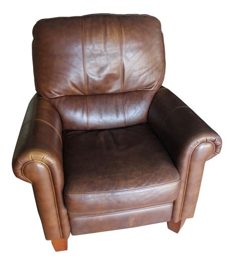 ethan allen leather recliner ethan allen leather recliner chairish