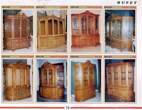 Lemari Kayu Pendek meja tv bufet kayu jati ukir kayu jepara toko jati