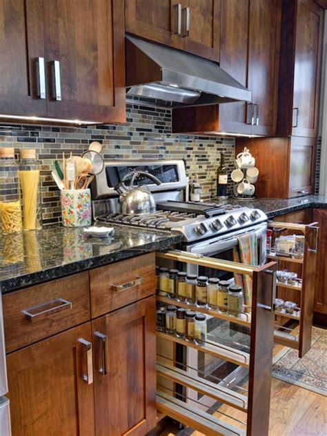 space saving kitchen cabinets innovative sliding cabinet shelves to save your kitchen