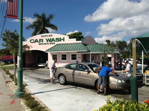 Car Wash In Port Fl by Naples Car Wash 16 Reviews Car Wash 2595 Tamiami Trl
