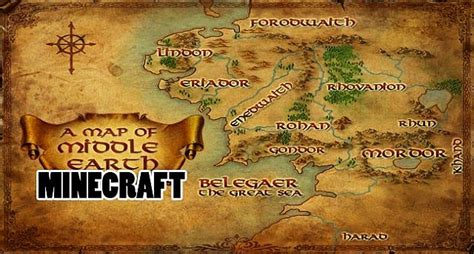 entire middle earth map entire recreation of middle earth minecraft project