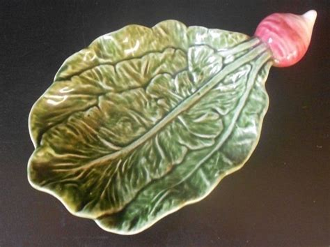 turnip pattern new leaf 17 best images about majolica pottery on pinterest