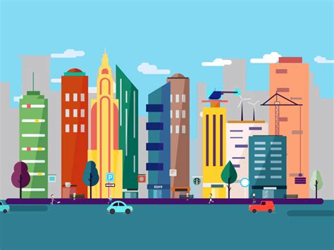 layout artist hiring davao city 2015 modern city animation by crisp motion dribbble