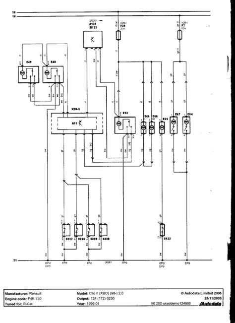 renault clio mk2 wiring diagram 31 wiring diagram images