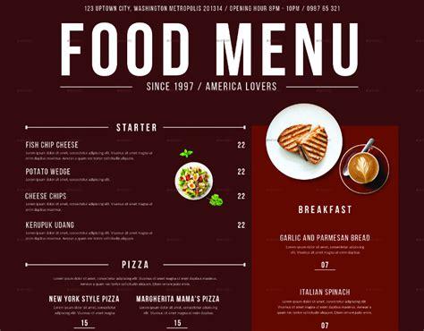 food menu layout design 33 beautiful restaurant menu designs free premium