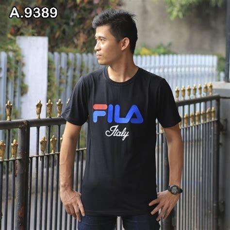 Tshirt Baju Tshirt Kaos Fila tshirt kaos distro pria fila 9389 grosir baju
