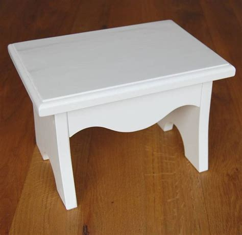 Childrens Step Stools by White Children S Wooden Step Stool