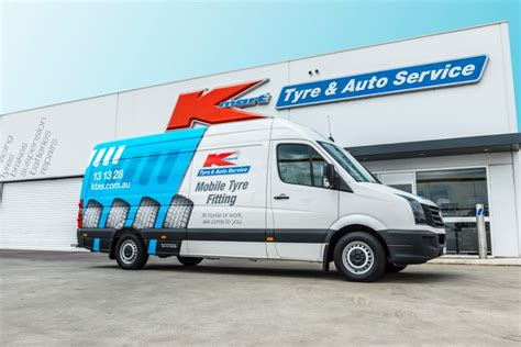 mobile tyre kmart tyre auto service launches mobile tyre fitting for