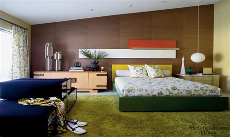 Mid Century Modern Bedroom Decorating Ideas by Colorful Master Bedrooms Mid Century Modern Bedroom