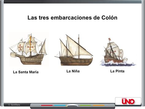 los tres barcos de cristobal colon en dibujo el mundo para los europeos ppt video online descargar