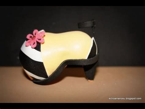 Manualidades Para Muecas Como Aser Sapatos   zapatos de cebra para munecas youtube