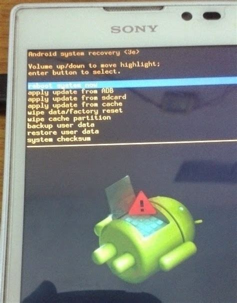 reset pattern lock android sony unlock screen pattern on sony xperia c by hard reset trick