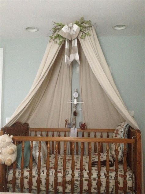 Canopy For Baby Crib Diy Crib Canopy Courtneydonnelly Net Ayanna S Favs