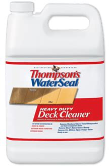 thompsons waterseal heavy duty wood deck cleaner