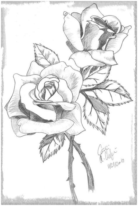imagenes de rosas de amor para dibujar a lapiz imagenes para dibujar de rosas a l 225 piz archivos dibujos