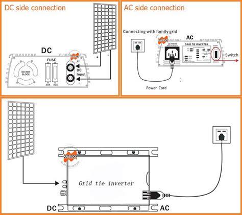 500w grid tie inverter wide dc input micro inverter 22v