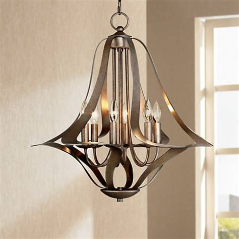 possini lighting ariano 27 1 4 quot w 5 light chandelier by possini design t8825 ls plus