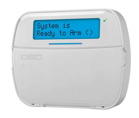 message lcd hardwired keypad dsc home security