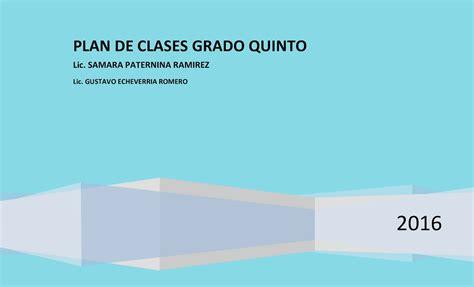 estructura de la fisco agenda 2016 calam 233 o plan de clase castellano 5 186 1 2016