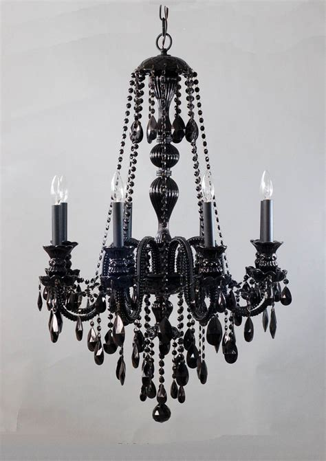 Black Hanging Chandelier High Resolution Image L Design Black Chandelier