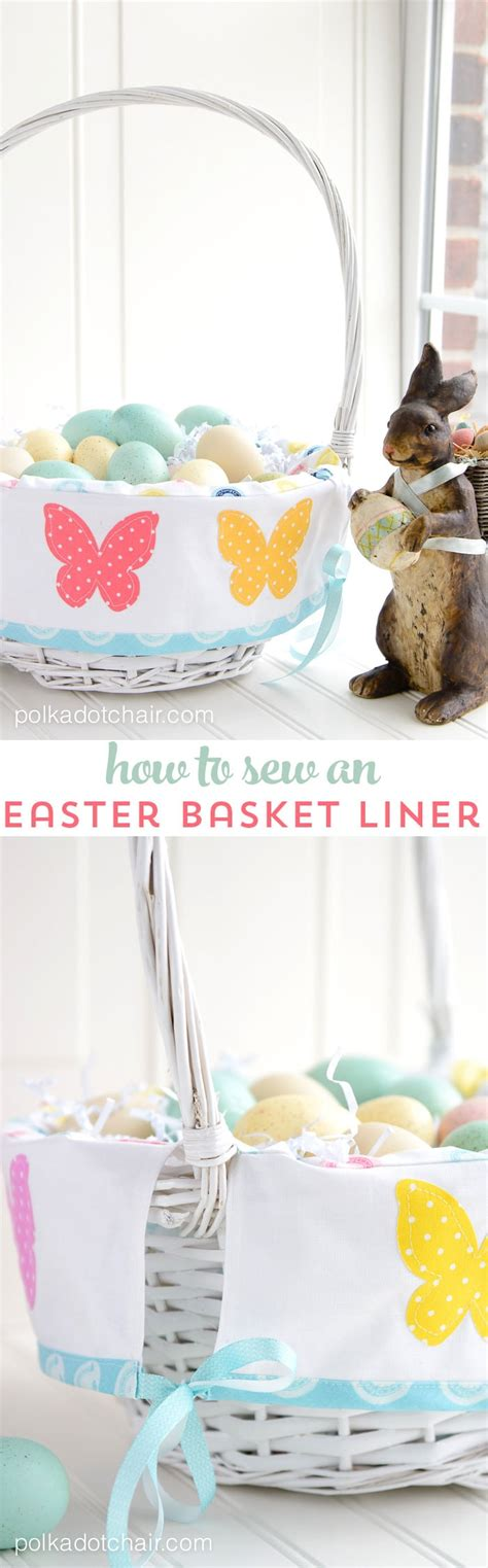 easter basket liner pattern  polka dot chair sewing blog