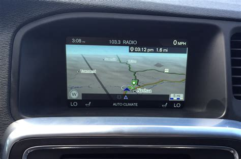 tech review volvos sensus connect infotainment system bestride
