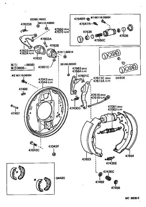 manual repair autos 2005 toyota 4runner parking system service manual 1997 toyota 4runner brake replacement system diagram tech feature brake job