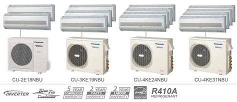 Ac Panasonic Multi Split panasonic whisper cool ductless air conditioner heat