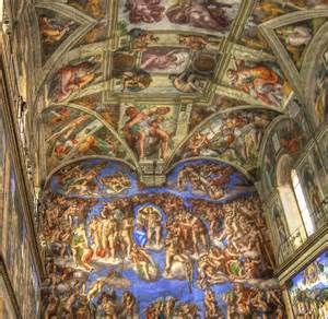 What Is Painted On The Ceiling Of The Sistine Chapel by All Cities In The World From Kaku To The Ancient Rome And