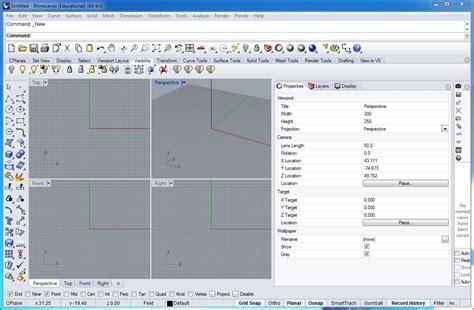 rhino layout zoom workshop 1 notes