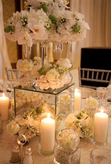 mirrors for centerpieces crystals and mirrors by ali bakhtiar centerpieces
