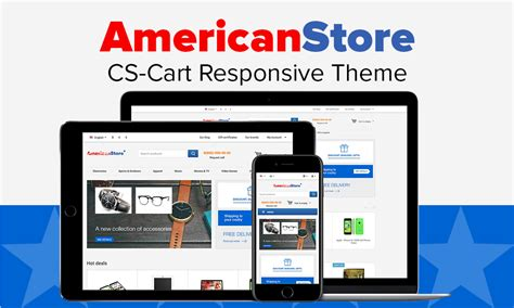 store html themes american store theme for cs cart
