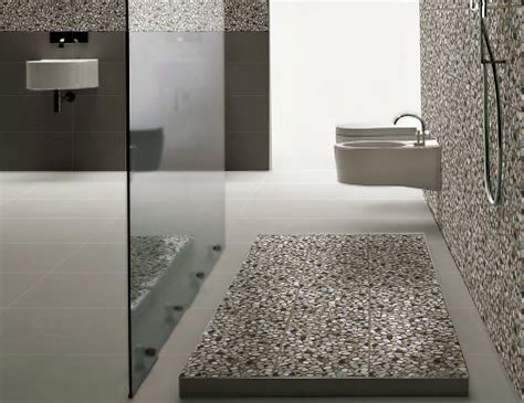 pebble tiles bathroom colorful and unique bathroom floor tile ideas furniture
