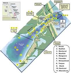 inlet florida map sebastian inlet florida