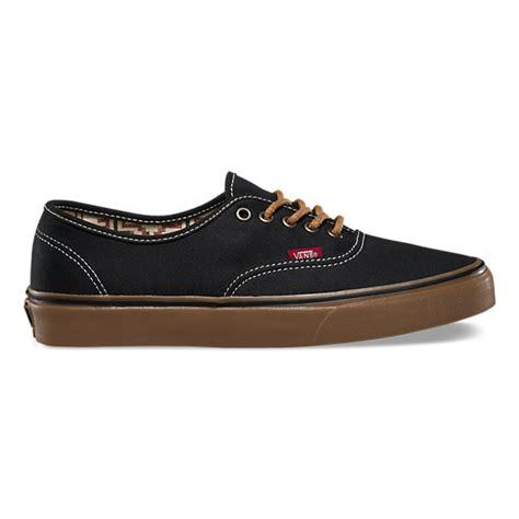 Jual Vans Authentic Black Gum t g authentic shop classic shoes at vans
