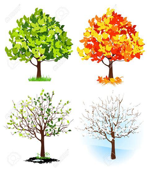 illustration of season trees seasons clip free clipart panda free clipart images