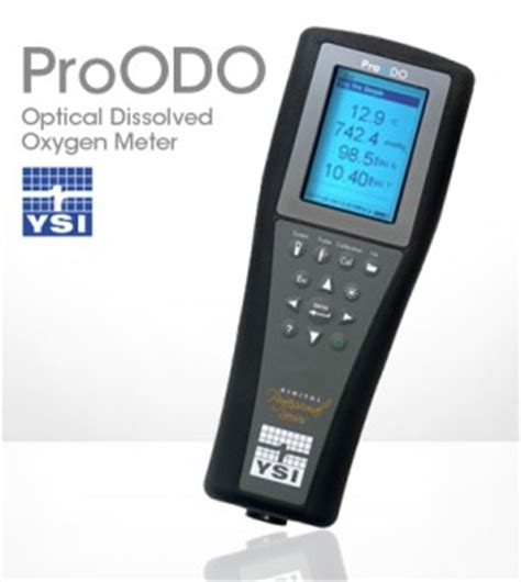 ysi proodo simple dissolved oxygen data from optical