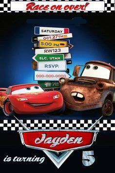 disney cars invitation templates 1000 images about cars invitations on cars