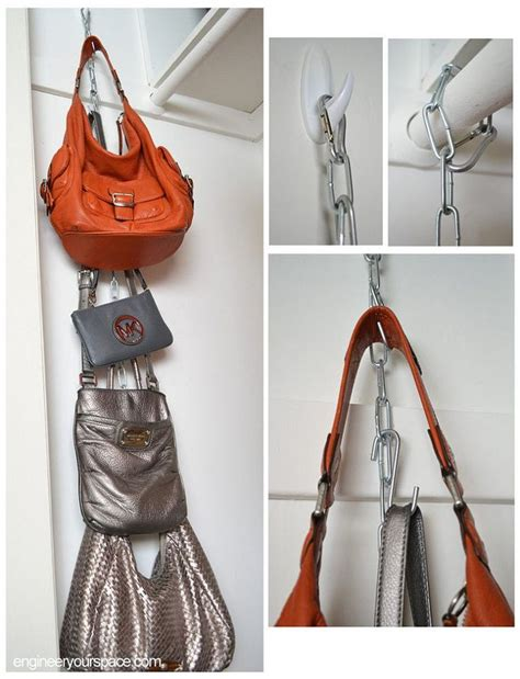 ideas for hanging backpacks 25 best ideas about purse organizer closet on pinterest
