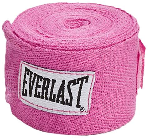 Everlast Handwraps Pink 120 Inch boxing gloves for