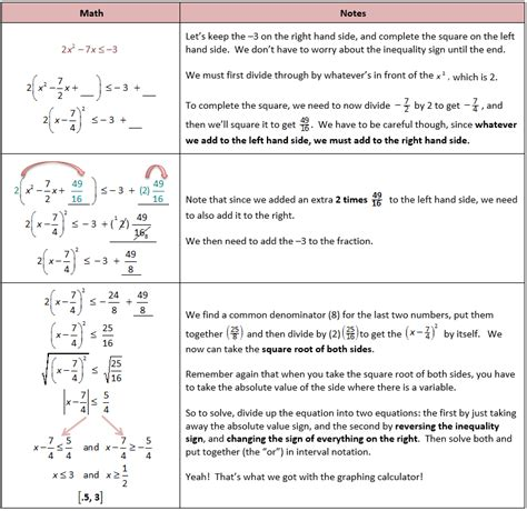 printable inequalities quiz worksheets graphing quadratic inequalities worksheet