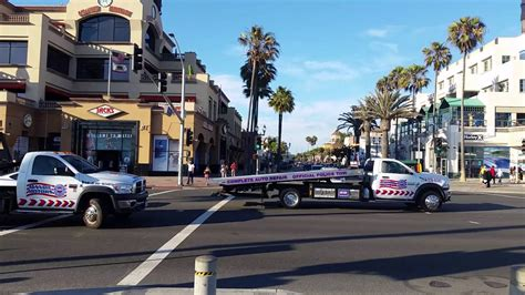 Beach And Pch - car accident in huntington beach at main st and pch youtube