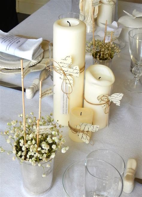 Decoration De Table Pour Communion Garcon by Idee Deco Table Communion Fille Collection Communion