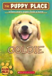 Goldie puppy place childrens book