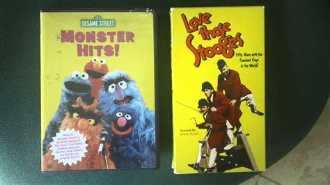 sesame street monster hits and love those stooges - YouTube Sesame Street Monster Hits