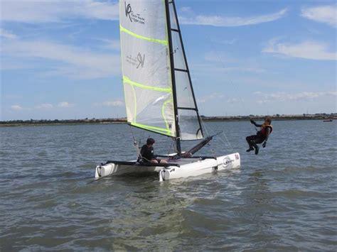 catamaran sailing clubs uk catamaran training event at marconi sailing club