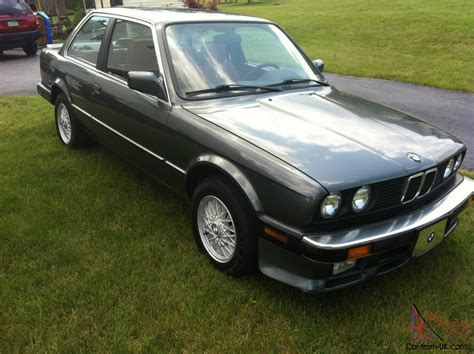 1987 e30 bmw 1987 bmw e30 325 is 5sp original owner 26 years