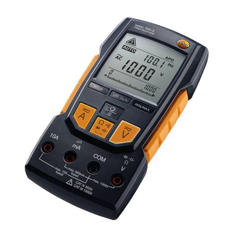 testo technologic testo 760 1 760 2 760 3 digital multimeters with new auto