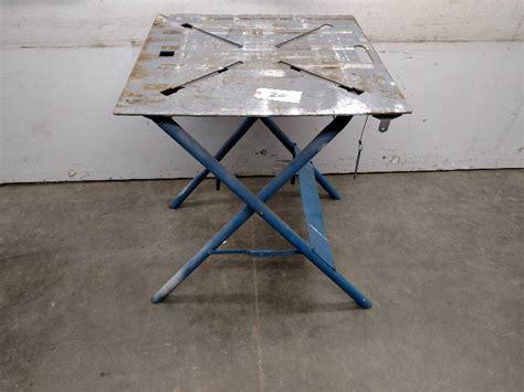 miller portable welding table miller portable welding table 29x2 iron worker